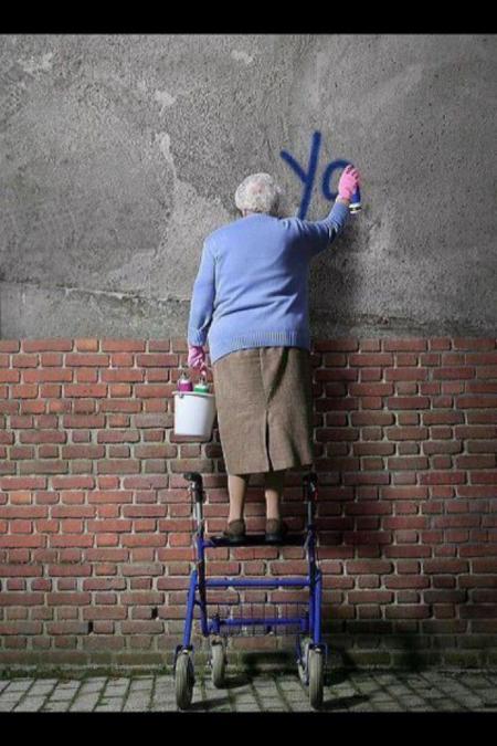 mamie graffiti